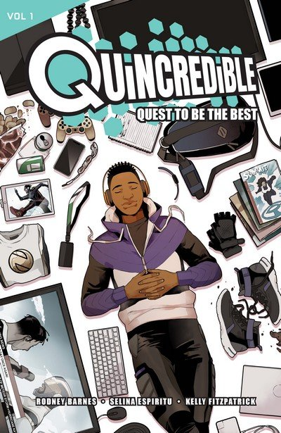 Quincredible Vol. 1 – Quest to be the Best (TPB) (2019)
