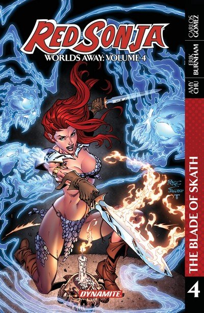 Red Sonja – Worlds Away Vol. 4 – The Blade of Skath (TPB) (2019)