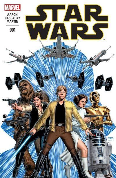 Star Wars #1 – 75 + Annuals + TPBs (2015-2019)