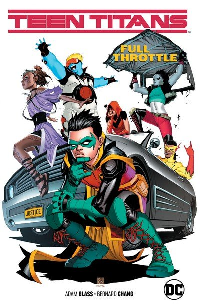 Teen Titans Vol. 1 – Full Throttle (TPB) (2019)