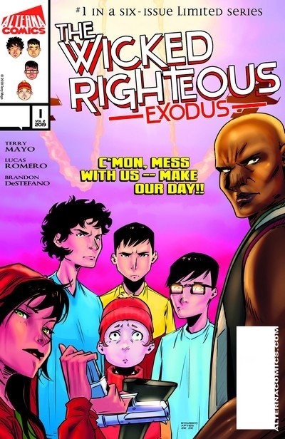 The Wicked Righteous – Exodus #1 (2019)