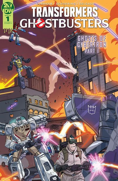 Transformers – Ghostbusters #1 (2019)
