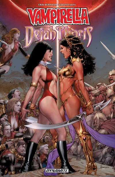 Vampirella – Dejah Thoris Vol. 1 (TPB) (2019)