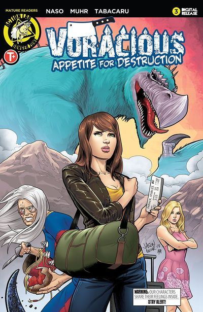 Voracious – Appetite For Destruction #3 (2019)