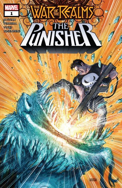 War of the Realms – Punisher #1 – 3 (2019)