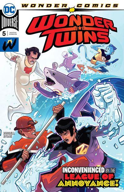 Wonder Twins #5 (2019)