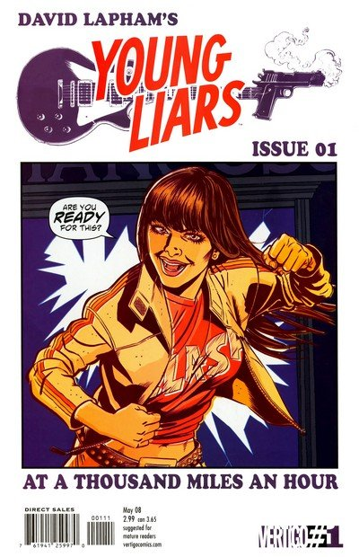Young Liars #1 – 18 (2008-2009)