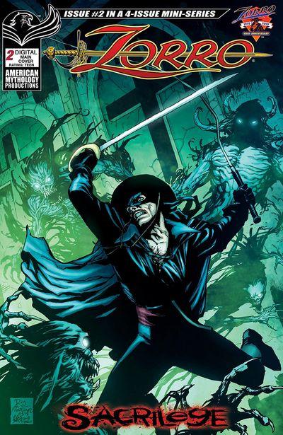 Zorro – Sacrilege #2 (2019)