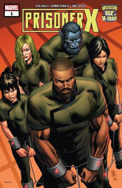 Age Of X-Man – Prisoner X #1 – 5 (2019)