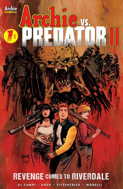 Archie Vs Predator Vol. 2 #1 (2019)