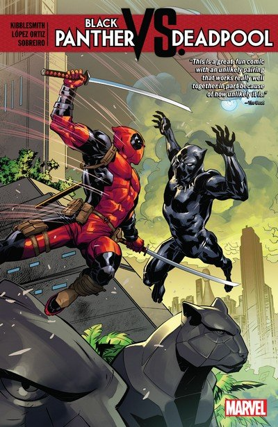 Black Panther vs Deadpool (TPB) (2019)