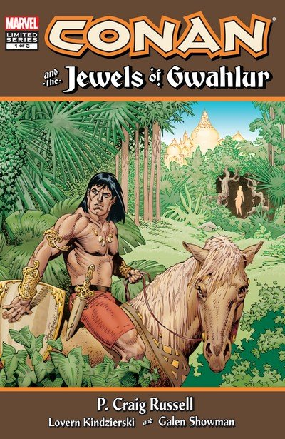 Conan and the Jewels of Gwahlur #1 – 3 (2019)