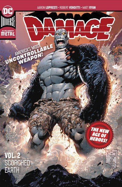 Damage Vol. 2 – Scorched Earth (TPB) (2019)