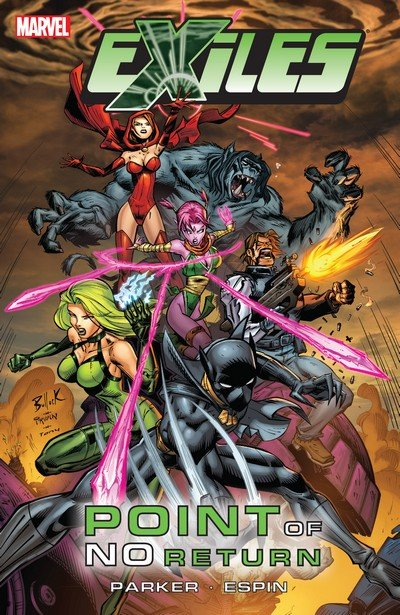 Exiles – Point Of No Return (TPB) (2009)