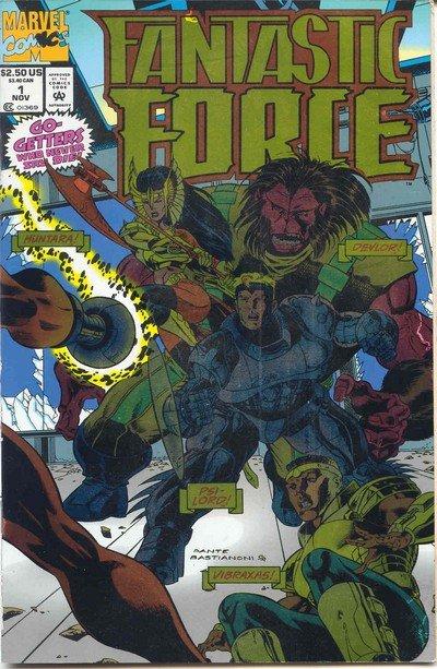 Fantastic Force Vol. 1 #1 – 18 (1994)