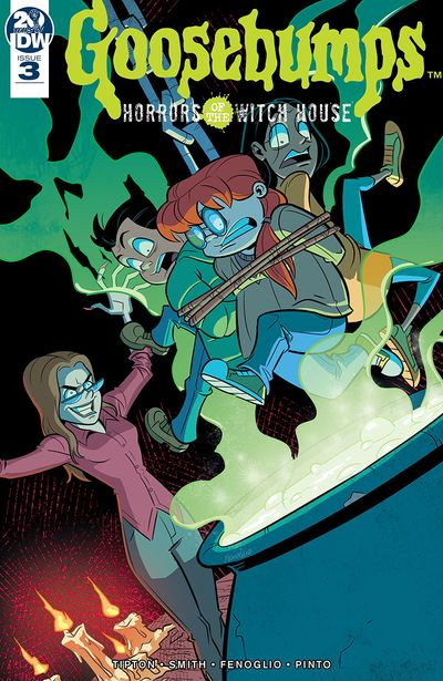 Goosebumps – Horrors Of The Witch House #3 (2019)