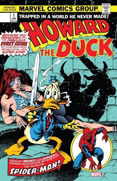 Howard the Duck – Facsimile Edition #1 (2019)