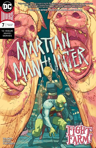 Martian Manhunter #7 (2019)