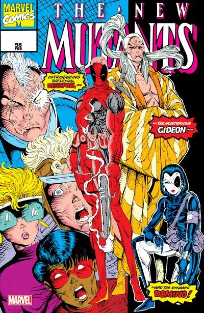 New Mutants – Facsimile Edition #98 (2019)