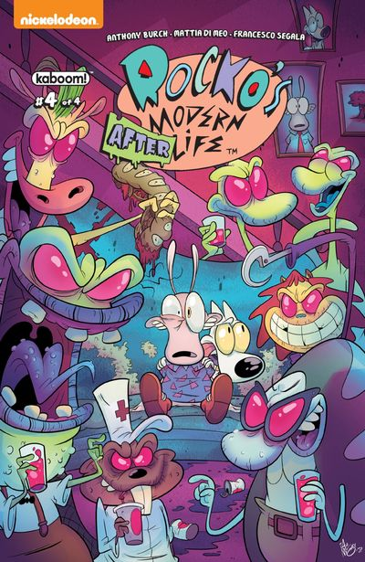 Rocko's Modern Afterlife #4 (2019)