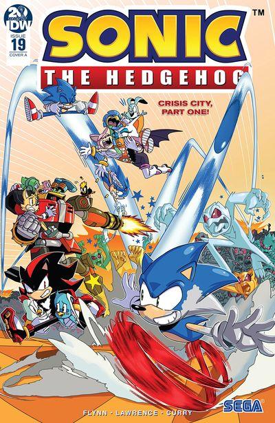 Sonic The Hedgehog #19 (2019)