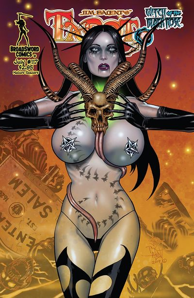 Tarot – Witch of the Black Rose #117 (2019)