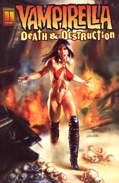 Vampirella – Death & Destruction (TPB) (1996)