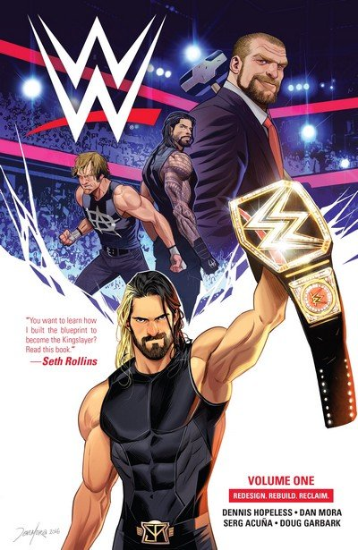 WWE Vol. 1 – 6 (TPB) (2017-2019)