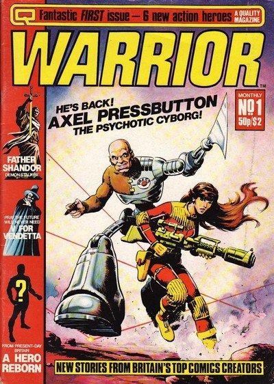 Warrior #1 – 27 (1982-1996)