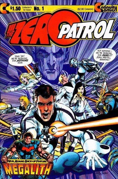 Zero Patrol Vol. 1 #1 – 5 (1984-1989)