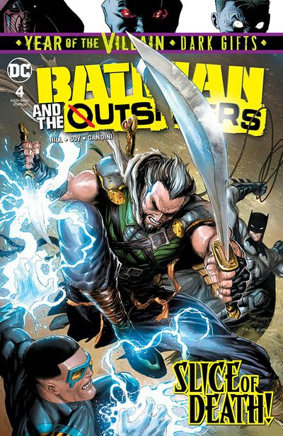 Batman And The Outsiders #4 (2019)