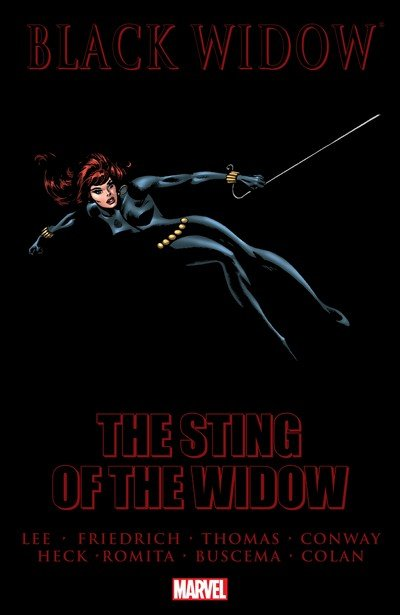 Black Widow – The Sting of the Widow (TPB) (2009)