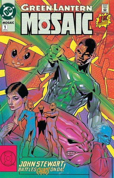 Green Lantern – Mosaic #1 – 18 (1992-1993)