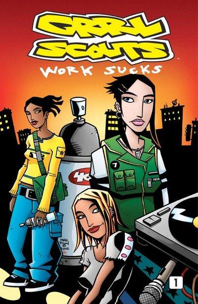 Grrl Scouts – Work Sucks #1 – 4 (2003)