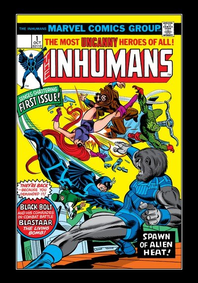 Inhumans Vol. 1 #1 – 12 (1975-1977)