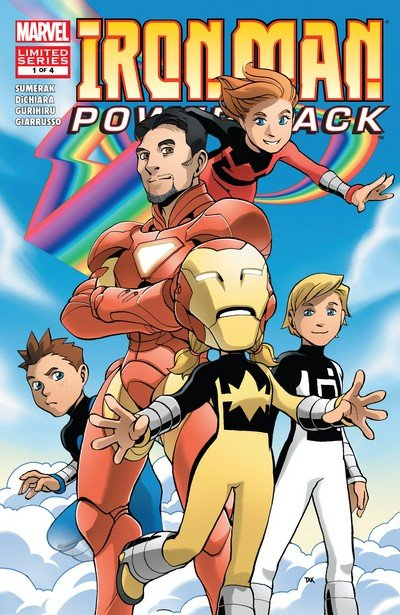 Iron Man and Power Pack #1 – 4 (2008)