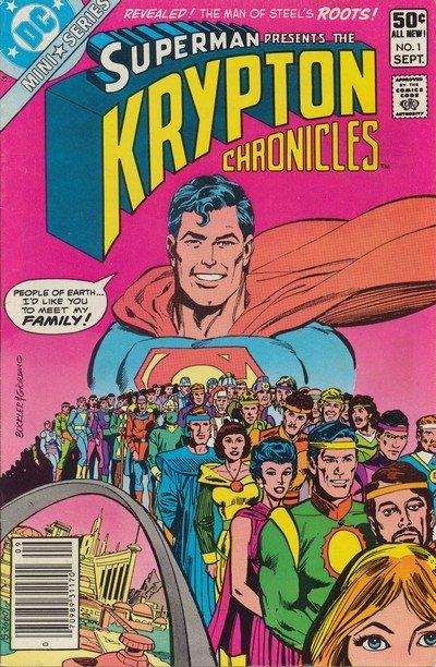 Krypton Chronicles #1 – 3 (1981)