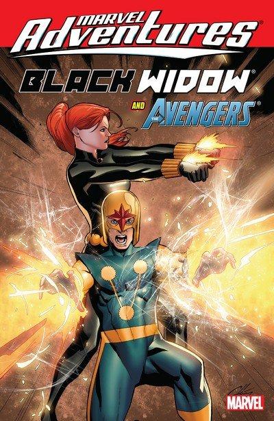 Marvel Adventures – Black Widow & The Avengers (TPB) (2010)