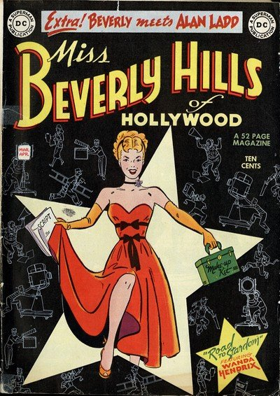 Miss Beverly Hills of Hollywood #1 – 9 (1949-1950)