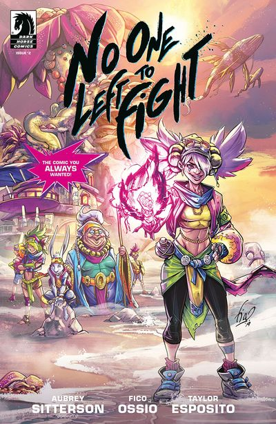 No One Left To Fight #2 (2019)