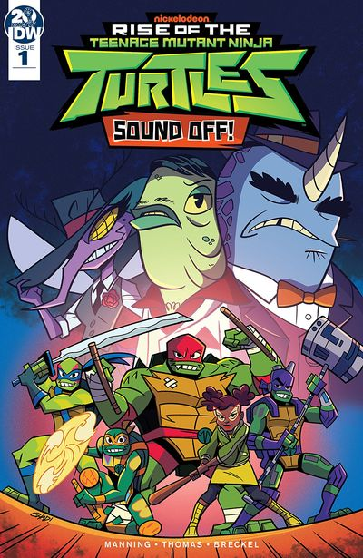 Rise Of The Teenage Mutant Ninja Turtles – Sound Off #1 (2019)
