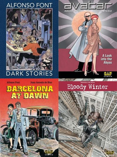SAF Comics (Collection) (2019)