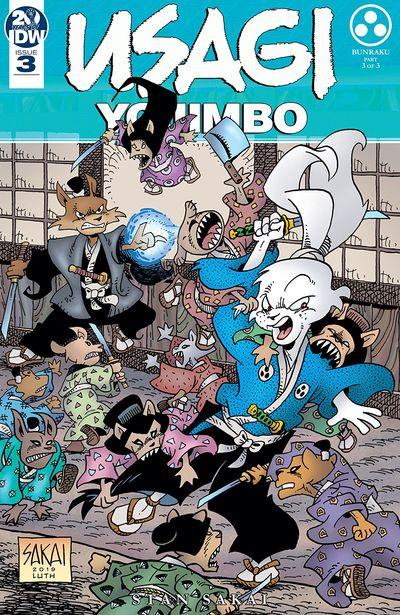 Usagi Yojimbo #3 (2019)