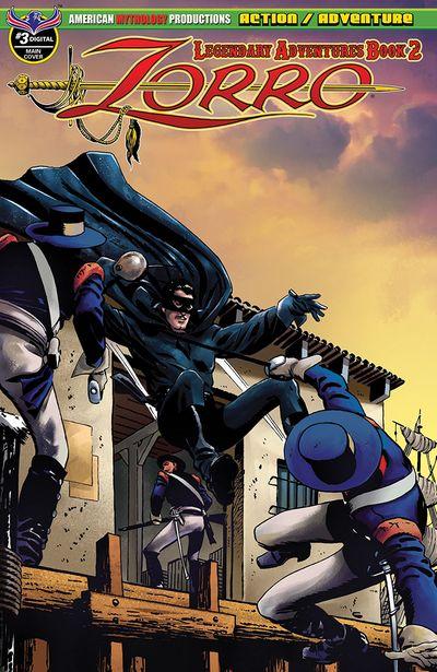 Zorro – Legendary Adventures Book 2 #3 (2019)