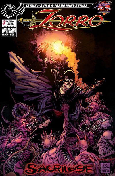 Zorro – Sacrilege #3 (2019)