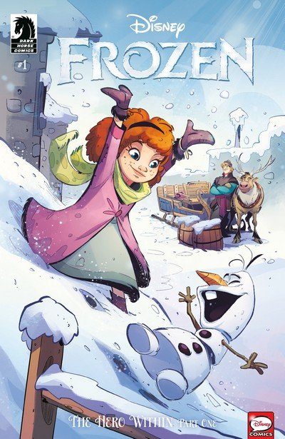 Frozen – The Hero Within #1 – 3 (2019)