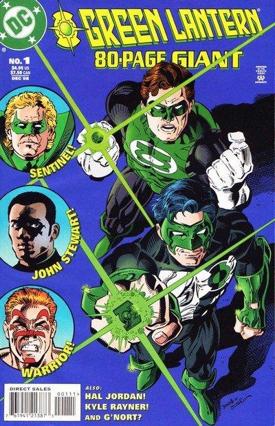 Green Lantern 80-Page Giant #1 – 3 (1998-2000)