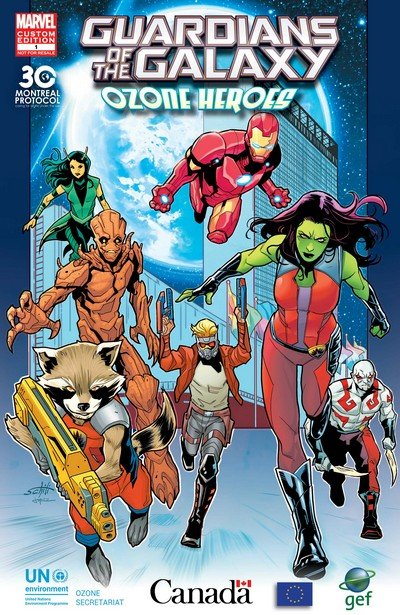 Guardians of the Galaxy – Ozone Heroes #1 (2017)