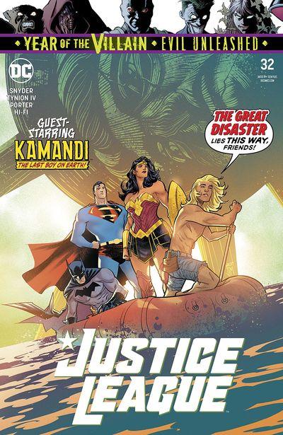Justice League #32 (2019)
