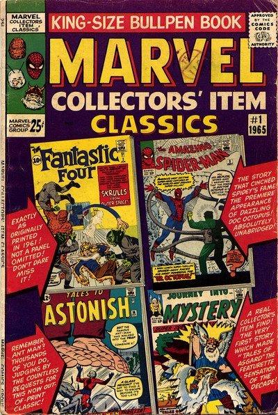 Marvel Collectors' Item Classics #1 – 22 (1965-1969)